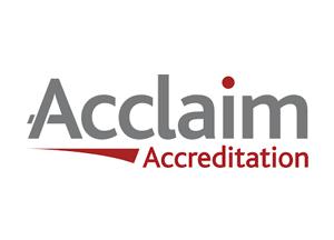 Acclaim Accrediation Logo